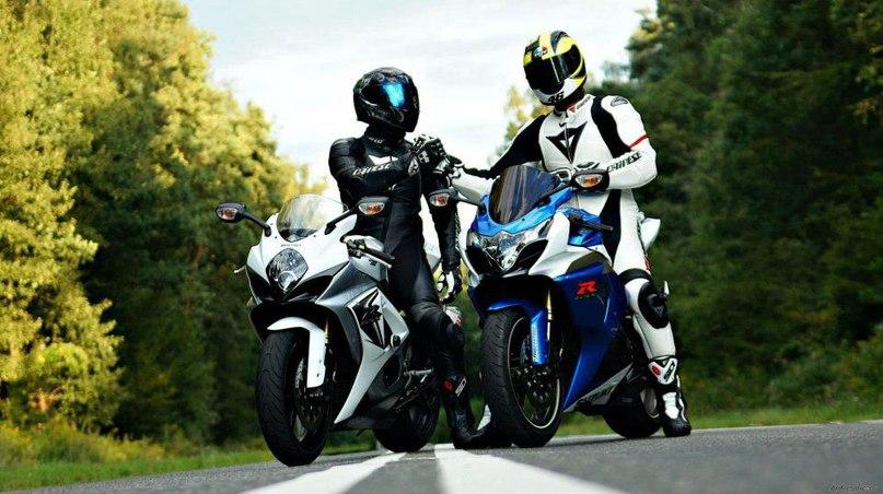 Мотоциклисты друзья